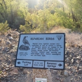 Riparian Informational Sign