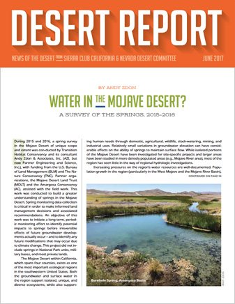 Desert Report June Cover.
