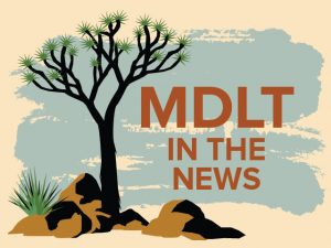 photo of MDLT In The News logo