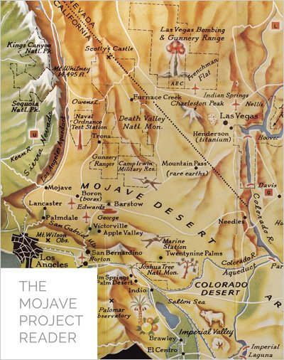 photo of The Mojave Project Reader volume 1 cover