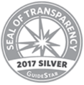 guidestar seal of transparency 2017 silver standard