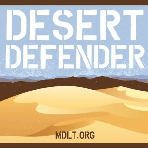 photo of Desert Defender poster for purchase