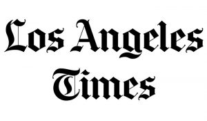 photo of Los Angeles Times Newspaper logo