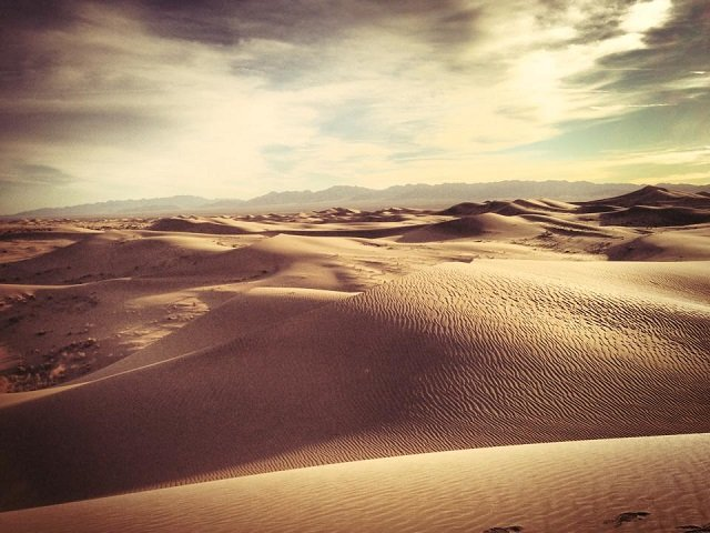 photo of the Cadiz Dunes