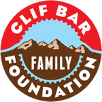 A photo of the Clif Bar logo