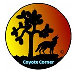 A photo of Coyote Corner logo