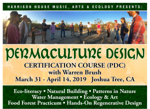A photo of Harrison House Permaculture Design Event
