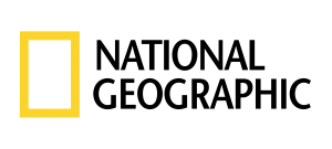 A photo of the National Geographic logo