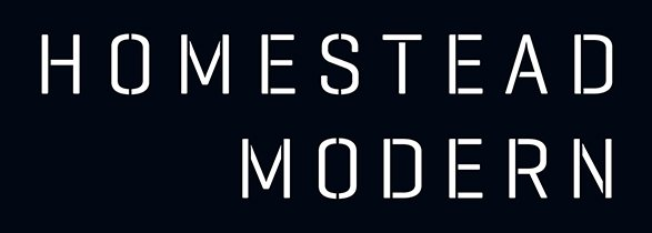 A photo of Homestead Modern logo