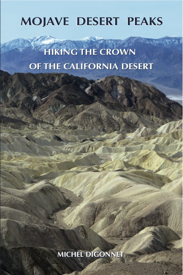 A photo of the cover of the book Mojave Desert Peaks